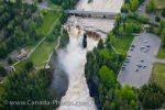 Photo: Kakabeka Falls Kaministiquia River Aerial View