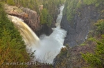 Photo: Aguasabon Falls Spring Flood Terrace Bay Ontario