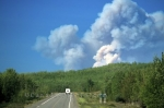 Photo: Alcan Highway Fire Yukon
