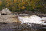 Photo: Autumn Sand River Waterfall Ontario Canada