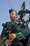 Bagpipe music is a pleasure to listen to especially for those people that are of the Scottish descent and here at the Halifax Citadel National Historic Site in Nova Scotia, Canada, the music rings clear.