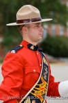 A sergeant with the RCMP, is the leader for the musical band performing in the Sargeant Major's Parade and Graduation Ceremony at the academy in the City of Regina, Saskatchewan.
