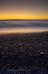 Photo: Beach Rocks Agawa Bay Sunset Ontario