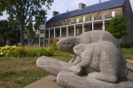 Photo: Beaver Statues Historic Garrison District New Brunswick