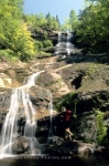 Photo: Beulach Ban Falls Hiker