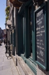 Photo: Blackboard Old Montreal Quebec