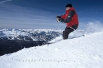 Nothing beats a sunny day skiing on Blackcomb Mountain in Whistler, BC in Canada.