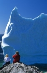 Photo: Blue Iceberg near Twillingate