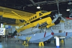 A Bush Plane on display in the Canadian Bushplane Heritage Centre in Sault Ste. Marie in Ontario, Canada.