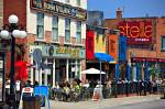 Photo of Cafe/Restaurant at the Byward Market, City of Ottawa, Ontario, Canada.