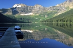 The beautiful Cameron Lake is situated in the Waterton Lakes National Park of Alberta, Canada.