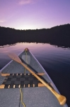 Photo: Canoe Lakeside Algonquin Provincial Park