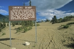 The Carcross Desert in the Yukon in Canada is the smallest desert in the world.