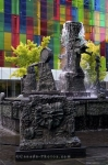 Photo: La Joute Sculpture Fountain Place Jean Paul Riopelle Montreal