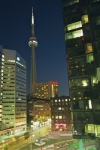 Photo: CN Tower Night Lights Toronto