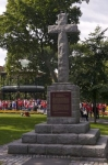 Photo: Cross Monument Kings Square Saint John New Brunswick