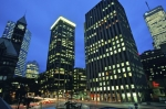Photo: Downtown Toronto Night Buildings