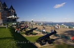 Photo: Dufferin Terrace Cannon Guns Old Quebec
