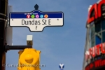 Photo: Dundas Street sign Toronto