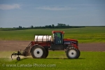 Photo: Farming Crop Spraying Rockglen Southern Saskatchewan Canada