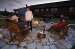 Photo: Fire Pits Rifflin Hitch Lodge Southern Labrador