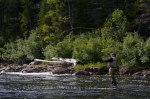 The White Bear River is where many fisherman spend their days fly fishing while visiting or residing in Southern Labrador, Canada.