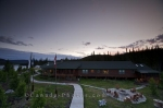Photo: Fishing Lodge Sunset Southern Labrador Canada