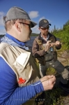 Photo: Fly Fishing Preparation