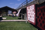 Quilt exhibition at Fort Macleod in Southern Alberta in Canada.