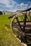 Photo: Red River Cart Wheel Spokes Fort Walsh