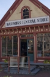 A building delicately adorned in downtown Saint John, New Brunswick is Barbours General Store where you can find a variety of items.