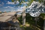 Photo: Gimli Town Main Dock Lake Winnipeg Manitoba Canada