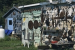 If you are looking for any golden oldies from early years, check out this shack in Ontario, Canada.