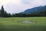 Slocan Lake Golf Course in New Denver, British Columbia is a beautiful nine hole course surrounded by the picturesque Selkirk Mountain Range.