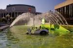 Photo: Golf Fountain Place Des Arts Montreal Quebec