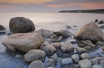 Photo: Green Point Sunset Rocks Gros Morne National Park Newfoundland
