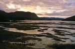 Tidal flats in Gros Morne National Park showing the wonders of this UNESCO World Heritage Site in Newfoundland, Canada.