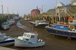 Photo: Fishing Boats Halls Harbour Nova Scotia