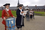 Louisbourg National Historic Site presents a public punishment of a fisherman for stealing a bottle of wine.
