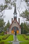Photo: Historic Memorial Church Bay Of Fundy Nova Scotia