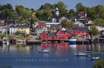 Photo: Historic Waterfront Lunenburg Town Nova Scotia Canada