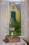 Photo: Historic Window Barbour Living Heritage Village Newfoundland