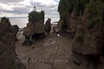 Along the Fundy Coastal Drive in New Brunswick, many people stop in Albert to enjoy the fascinating tourist attraction, the Hopewell Rocks.