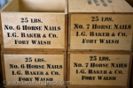 Photo: Horse Nails Fort Walsh National Historic Site Saskatchewan Canada
