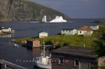 Photo: Iceberg Stranded Old Bonaventure Newfoundland