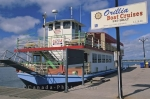The Island Princess in Orillia, Ontario takes visitors on cruises around the lakes.