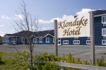 Photo: Klondyke Hotel Sign Bay Roberts Newfoundland Canada