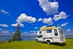 Photo: Lake Audy Campground Camper Manitoba Canada