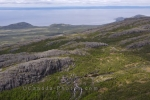 The Mealy Mountains in Southern Labrador are home to wetlands, rivers and fish habitats and from here you get an aerial view of Lake Melville.