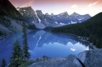 Photo: Lake Moraine Pristine Lake Banff